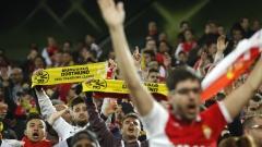 """""""Дортмунд, Дортмунд!"""" продължава да звучи от сектора с фенове на Монако"""