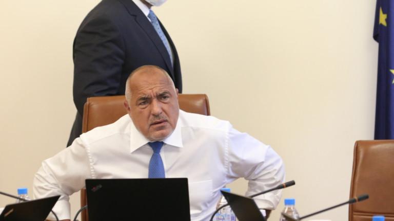 Премиерът Бойко Борисов забрани на Кирилов да пише във социалните