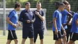 Специална подкрепа за Петър Хубчев на първата тренировка на Левски