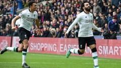 Салах няма спирка, Ливърпул е временно под номер 2 в Англия