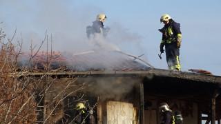 Над 1 млн. лв. са щетите от пожара в читалището в Гложене