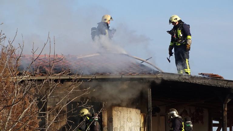 За над 1 милион лева са нанесените щети след пожара