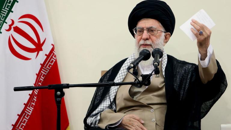 Върховният лидер на Иран аятолах Али Хаменей заяви, че