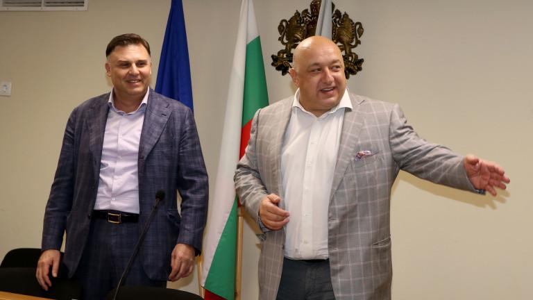 Министърът на младежта и спорта Красен Кралев посети Плевен, за