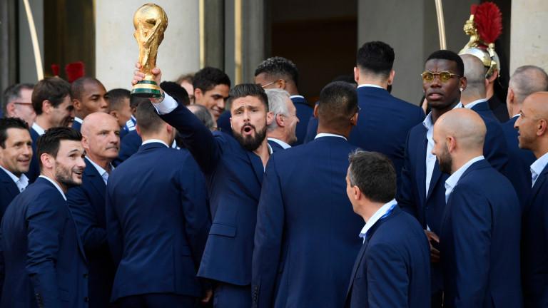 Жиру: Помогнах много на Франция да стане световен шампион