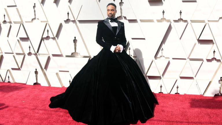 Мъжът, който облече рокля на Оскарите