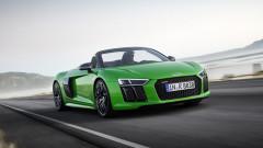 Audi представи най-мощния си кабриолет