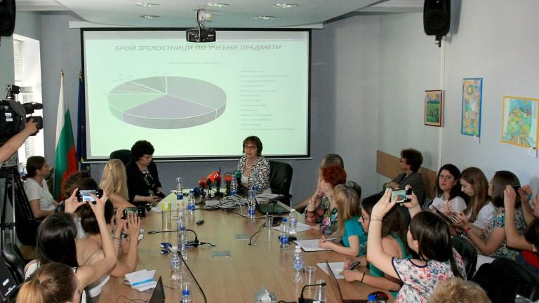 Резултатите на зрелостниците тази година на матурите по Български език
