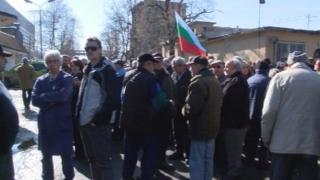 """Хората излязоха на масов протест срещу """"Топлофикация - Габрово"""""""