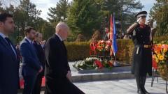 Сакскобургготски почете паметта на Борис Трайковски