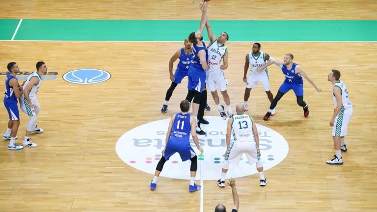 Баскетболният шампион на България Балкан започна с ценна победа участието