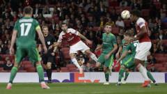 Унай Емери недоволства от Арсенал след победата с 4:2 над Ворскла