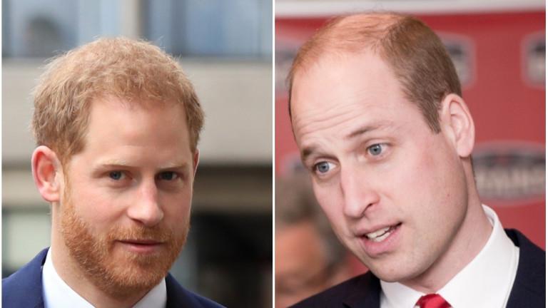 Снимка: Говорят ли си Уилям и Хари