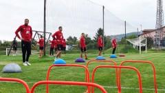 ЦСКА продължава да се готви за Ботев, Чарлс вече тренира индивидуално