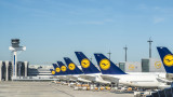 Lufthansa: Пандемията донесе загуби от 2,1 милиарда евро през първото тримесечие