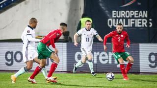 България - Северна Ирландия 2:1 (Развой на срещата по минути)