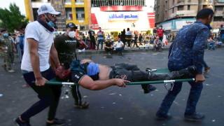 Протестите в Ирак: Общо поне 250 загинали, най-малко 18 убити през нощта
