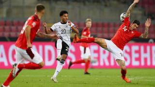 Германия и Швейцария не се победиха в голово шоу
