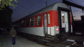 Намушкаха мъж във влака Пловдив-София