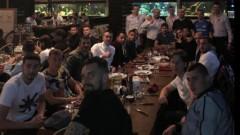 Левскарите сплотиха колектива с обща вечеря