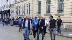 Наско Сираков поведе синьо шествие за рождения ден на Левски