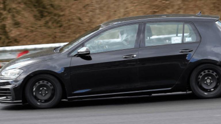 Volkswagen стартира пътни тестове на осмото поколение на модела Golf,