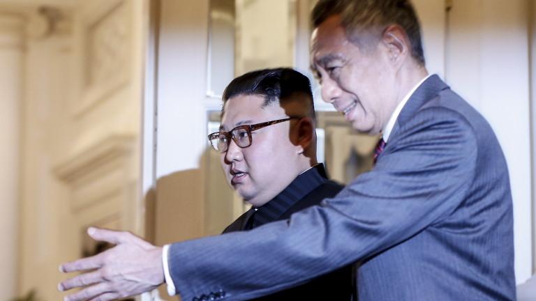 Медиите в КНДР мълчат за визитата на Ким Чен-ун в Сингапур
