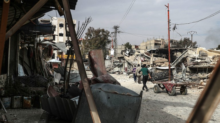 Руски център за мониторинг на примирието в Сирия  е обстрелян от бунтовници