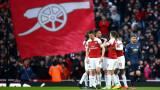 Арсенал победи Манчестър Юнайтед с 2:0 във Висшата лига