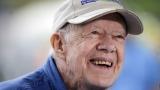 Джими Картър е приет в болница