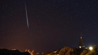 Метеор стресна шотландци и англичани