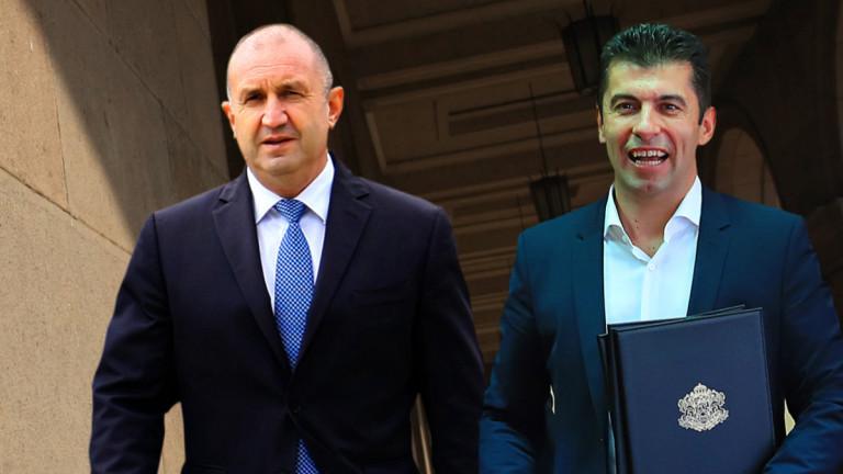 Радев се е предоверил на Кирил Петков. Конституцията е нарушена,