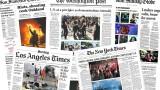 Ярост и мъка – как печатът отразява двойната криза в САЩ?