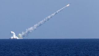 """В Русия се хвалят с пораженията, нанесени от ракети """"Калибр"""" по цели в Черно море"""