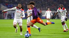 Манчестър Сити стигна до точка срещу Лион и е осминафиналист в ШЛ