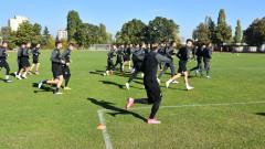 Клуж тренира на стадиона на НСА
