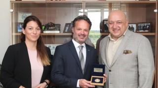 Министър Кралев се срещна с изпълнителния директор на Европейската тенис федерация