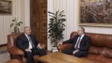 Борисов при Радев да поговорят за изтребителя и корупцията
