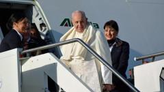 Папата разкритикува стената на границата на САЩ с Мексико