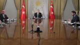 """Ердгоган вижда """"големи възможности"""" за Турция, ако ограничи вируса"""
