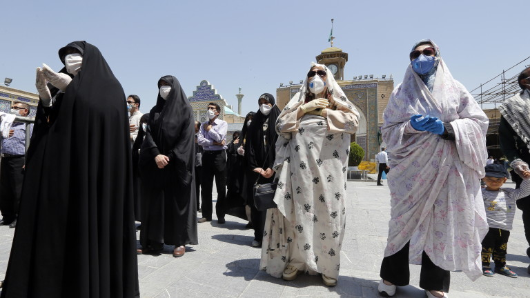 COVID-19: Вече над 8 000 починали и над 160 хил. заразени в Иран