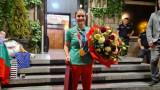 ЦСКА приветства олимпийската ни шампионка Ивет Горанова