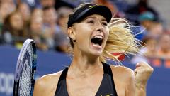 US Open приветства Маша!