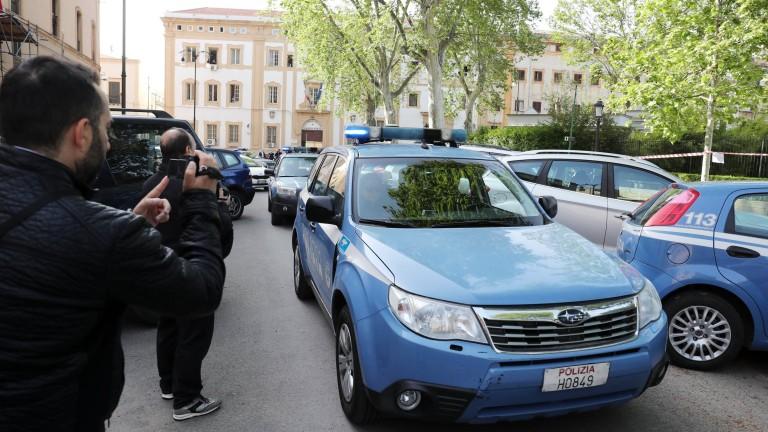 Повече от 100 човека са задържани в Италия по подозрение