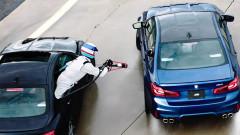 BMW M5 постави рекорд с 8 часа непрекъснат дрифт (ВИДЕО)