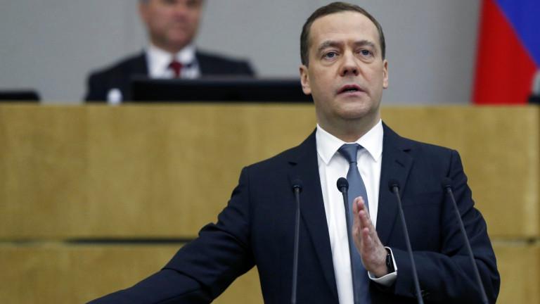 Медведев: Русия мисли за европейците - не може да спре газа през Украйна
