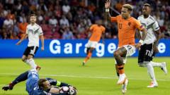 Германия си тръгва с празни ръце от Амстердам, Холандия с историческа победа над Бундестима!