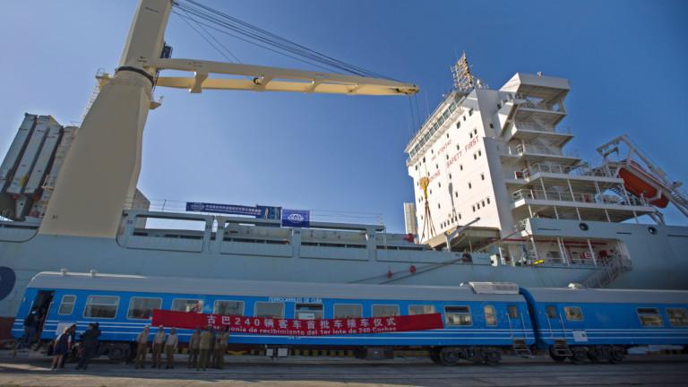 В Куба потегли първият нов влак от над 40 г.,