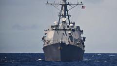САЩ отново изпраща два кораба през стратегическия Тайвански проток