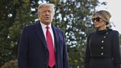 Доналд Тръмп напусна Белия дом за последен път като президент